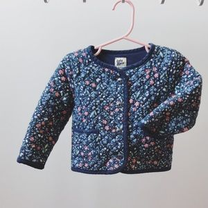 Toddler quilted jacket